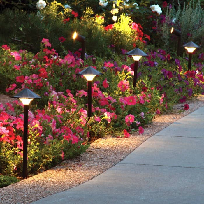 amazing garden lighting flower. Led Path Lights Amazing Garden Lighting Flower N