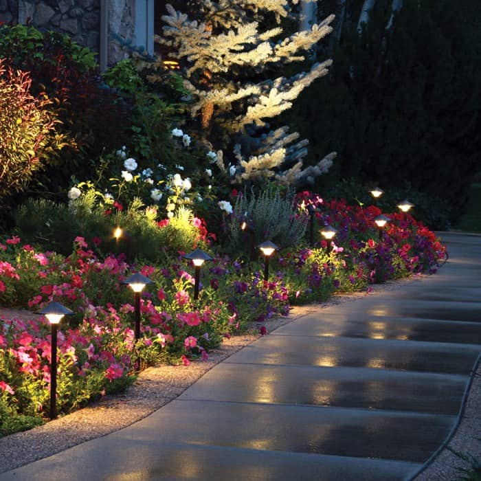 Garden Landscape Lighting Part - 20: Led Path Lights