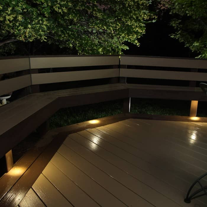 LED Recessed Down Light 4 Pack Indoor Outdoor DEKOR Lighting