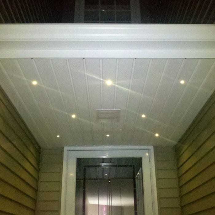 outdoor led recessed up down light kit dekor lighting