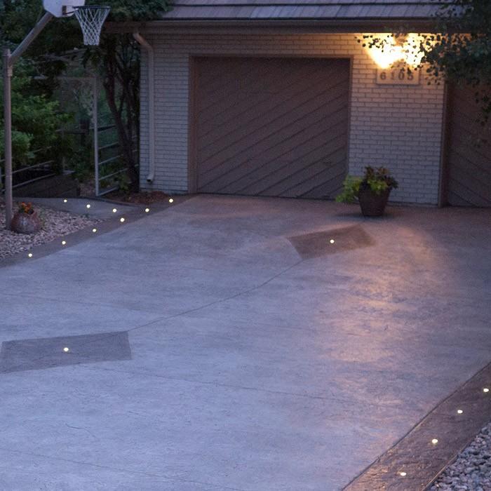 Led Stamped Concrete Lights 1 Dekor 174 Lighting