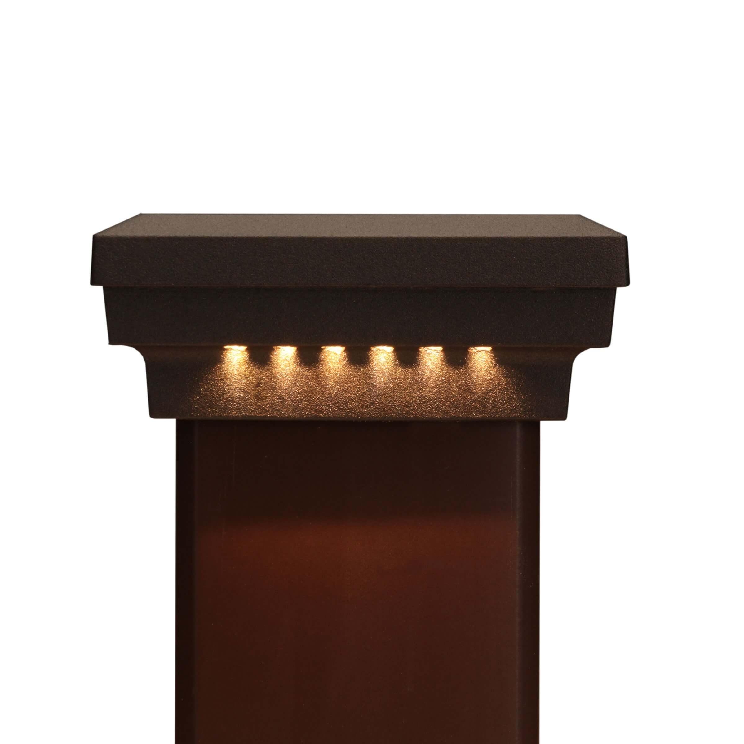 Flat Post Caps Dekor 174 Lighting
