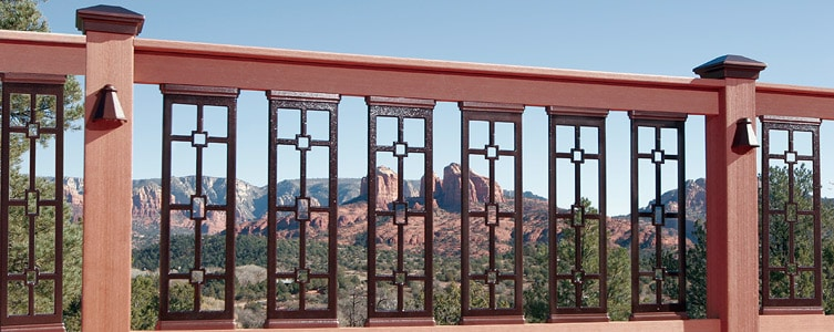 decorative deck railings.  Aluminum Deck and Balcony Panels DEKOR Lighting