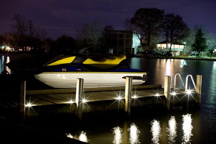 Dek dots led dock lights dekor lighting dek dots led dock lights mozeypictures Choice Image