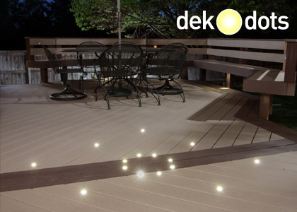 dek dots recessed lights dekor lighting