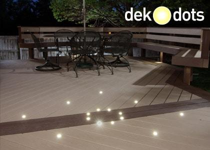 Dek Dots Recessed Lights
