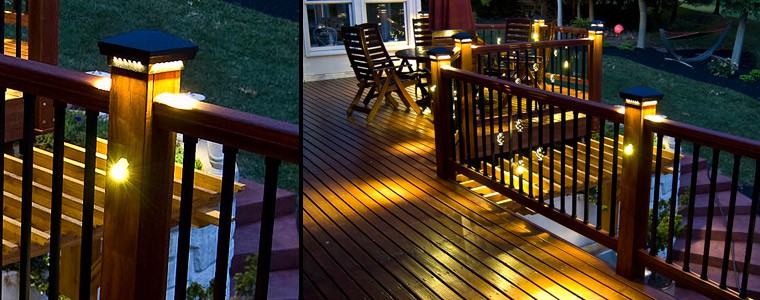 Led directional lights dekor lighting dekor petite lights mini deck post lights led directional lights mozeypictures Gallery