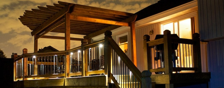 led-down-lights-under-rails & Outdoor LED Recessed Lights - DEKOR® Lighting