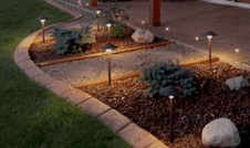 LED Landscape spotlights