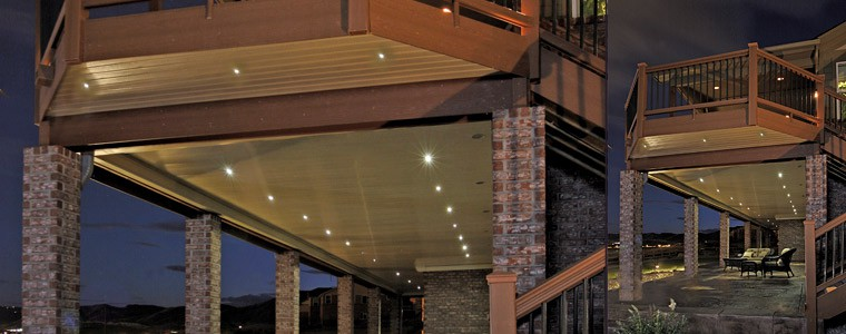 Outdoor led recessed lights dekor lighting led under deck lights workwithnaturefo
