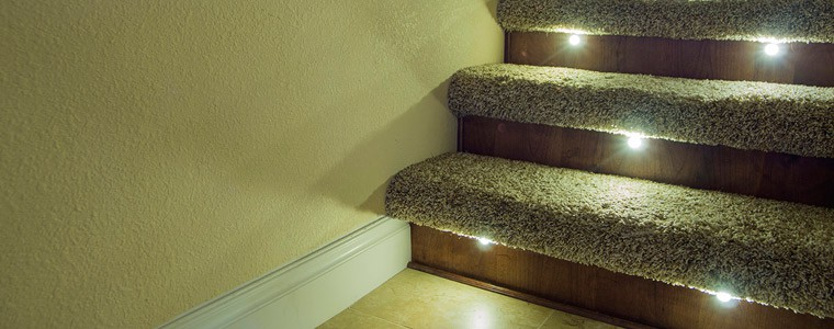 Basement Stair Ceiling Lighting: Indoor LED Recessed Lights