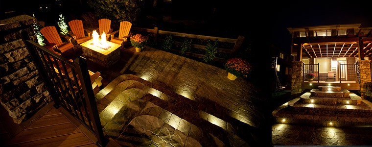 Outdoor led recessed lights dekor lighting led stair lights pavers mozeypictures Choice Image
