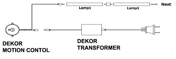 Motion Activated Light Controller
