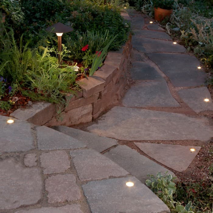 Paver Dot Walkway Lighting