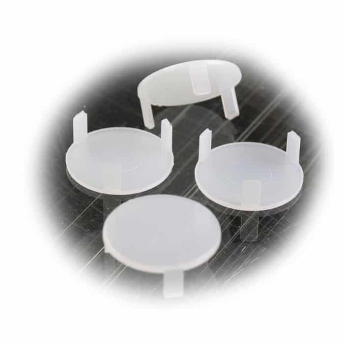 Snap On Style Recessed Light Diffuser Disc 4 Pack