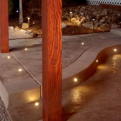 Step and Stair paver dot light