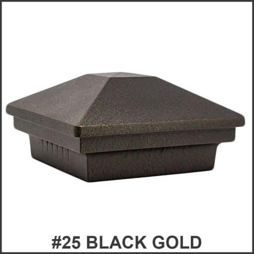 Pyramid-Post-Caps-Dekor-Lighting-Black-Gold