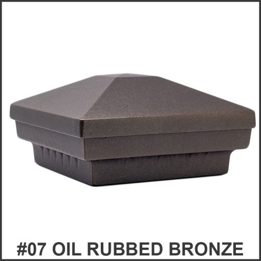 Pyramid-Post-Caps-Dekor-Lighting-Oil-Rubbed-Bronze