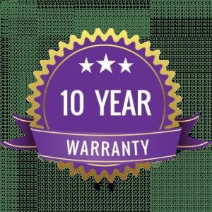 10 year warranty post caps by Dekor