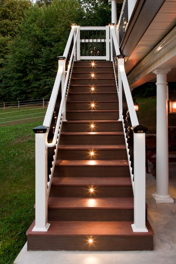 Deck Lighting By Dekor Deck Lighting Kits For