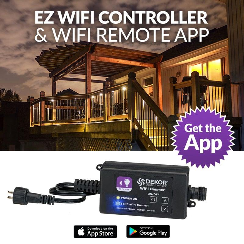 WiFi CONTROLLER & Remote App - DEKOR® Lighting