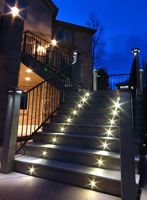 outdoor stairs lighting. Led Stair Lights Outdoor Stairs Lighting