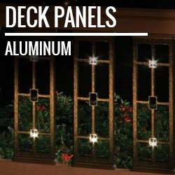 deck railing panels