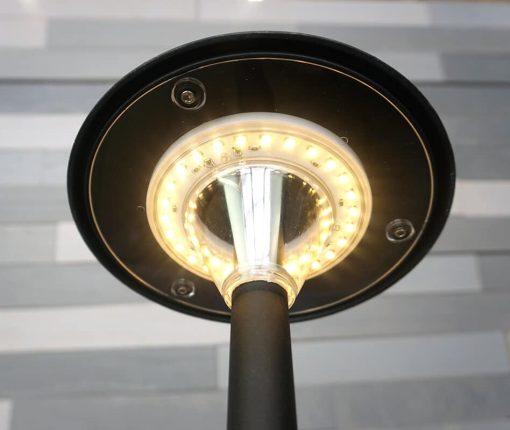 Stepped Mushroom Pathway Light