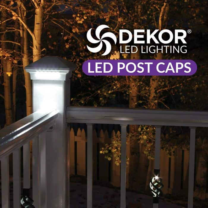 Durable and beautiful led post caps by dekor lighting dekor lighting supplies a multitude of beautiful plug n play functional products for diy projects including led post lights and led post caps aloadofball Gallery