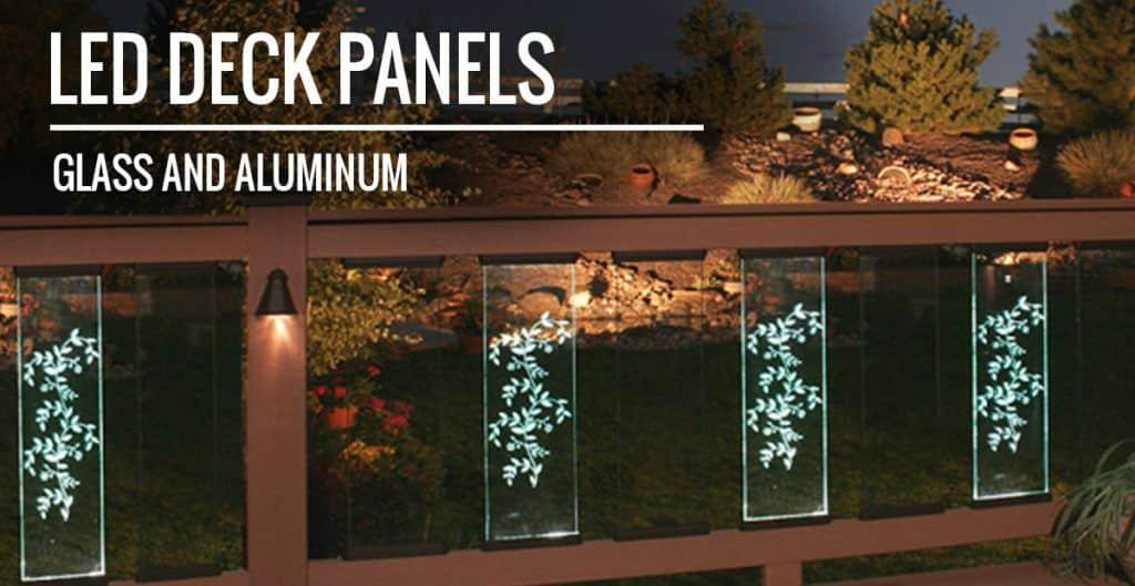 deck railing panels