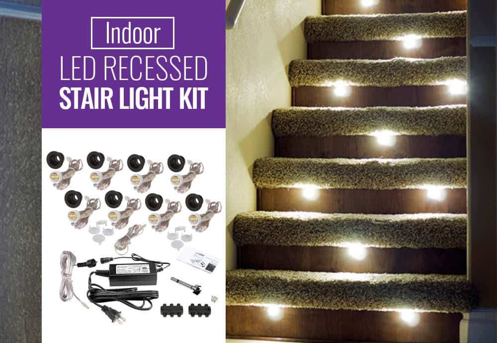 Indoor Recessed Stair Lights