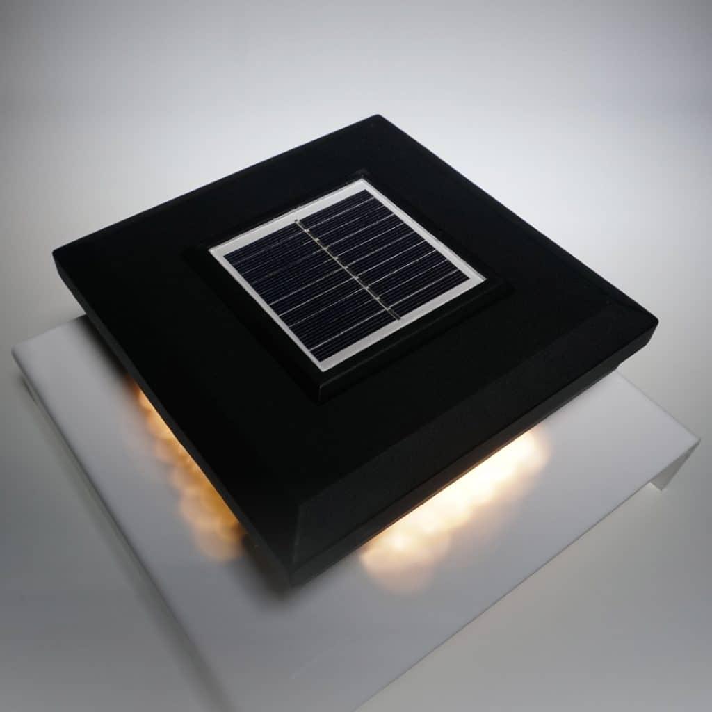 solar post caps