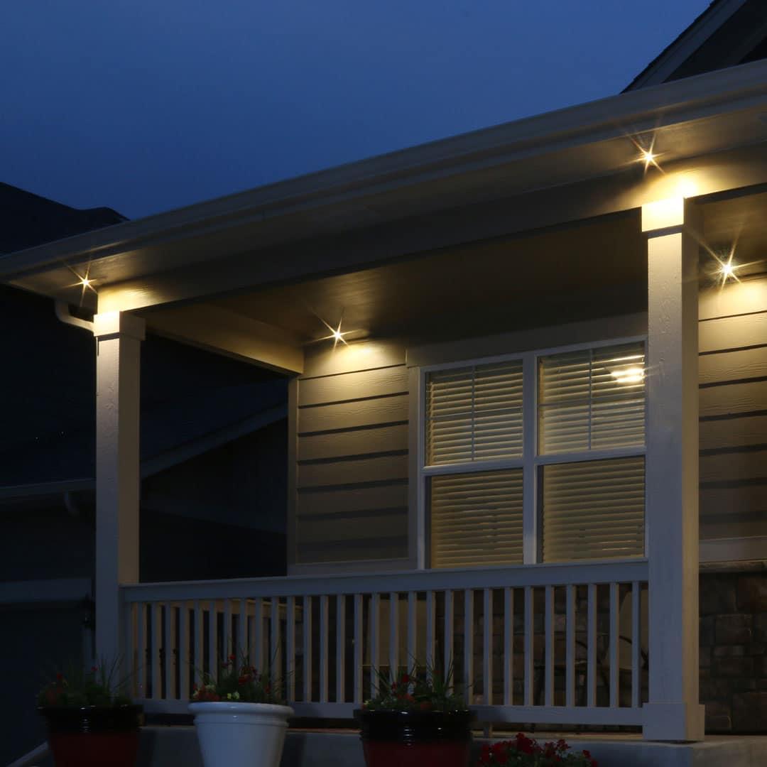 LED Soffit Flood Light