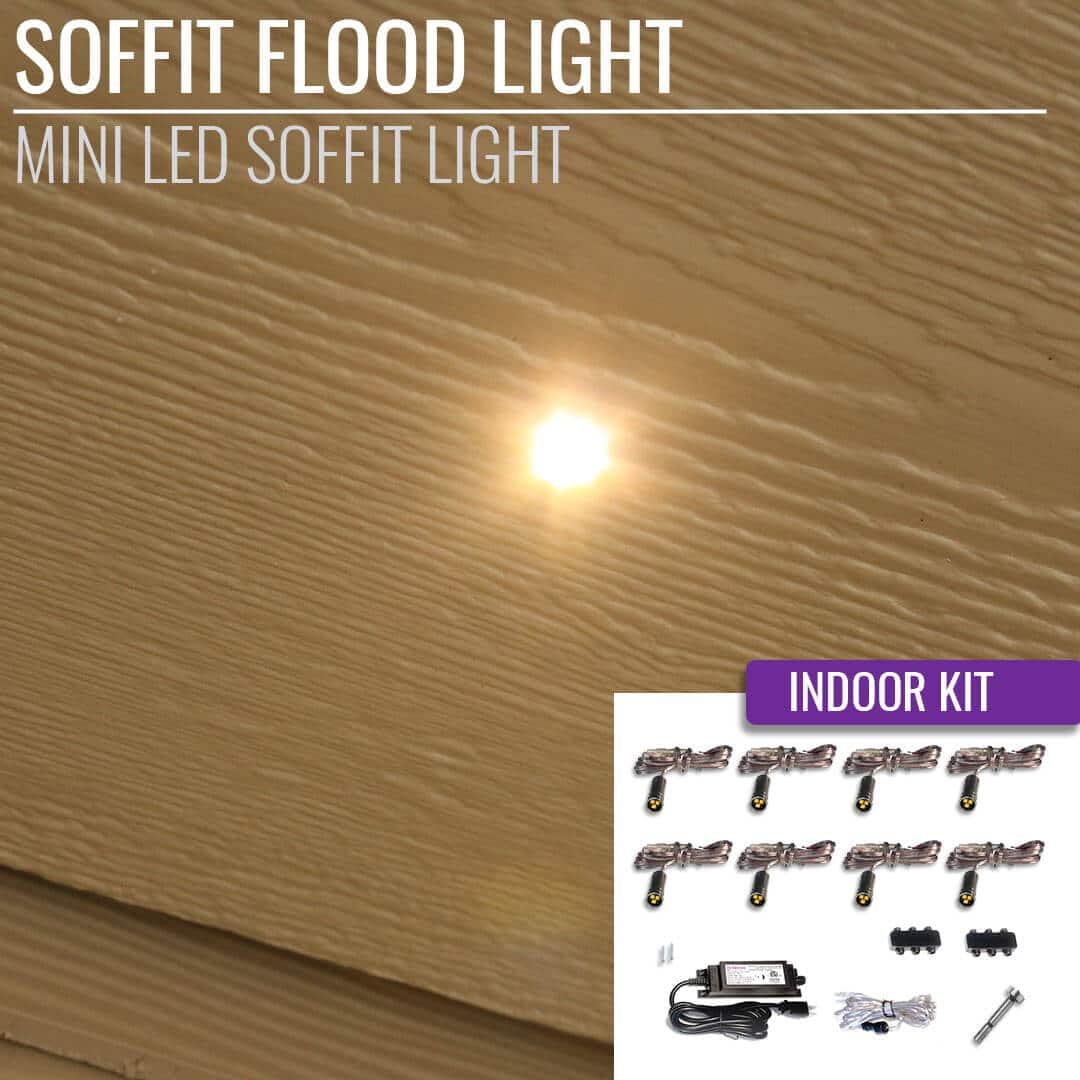 Led Soffit Flood Light Indoor Kit Dekor 174 Lighting
