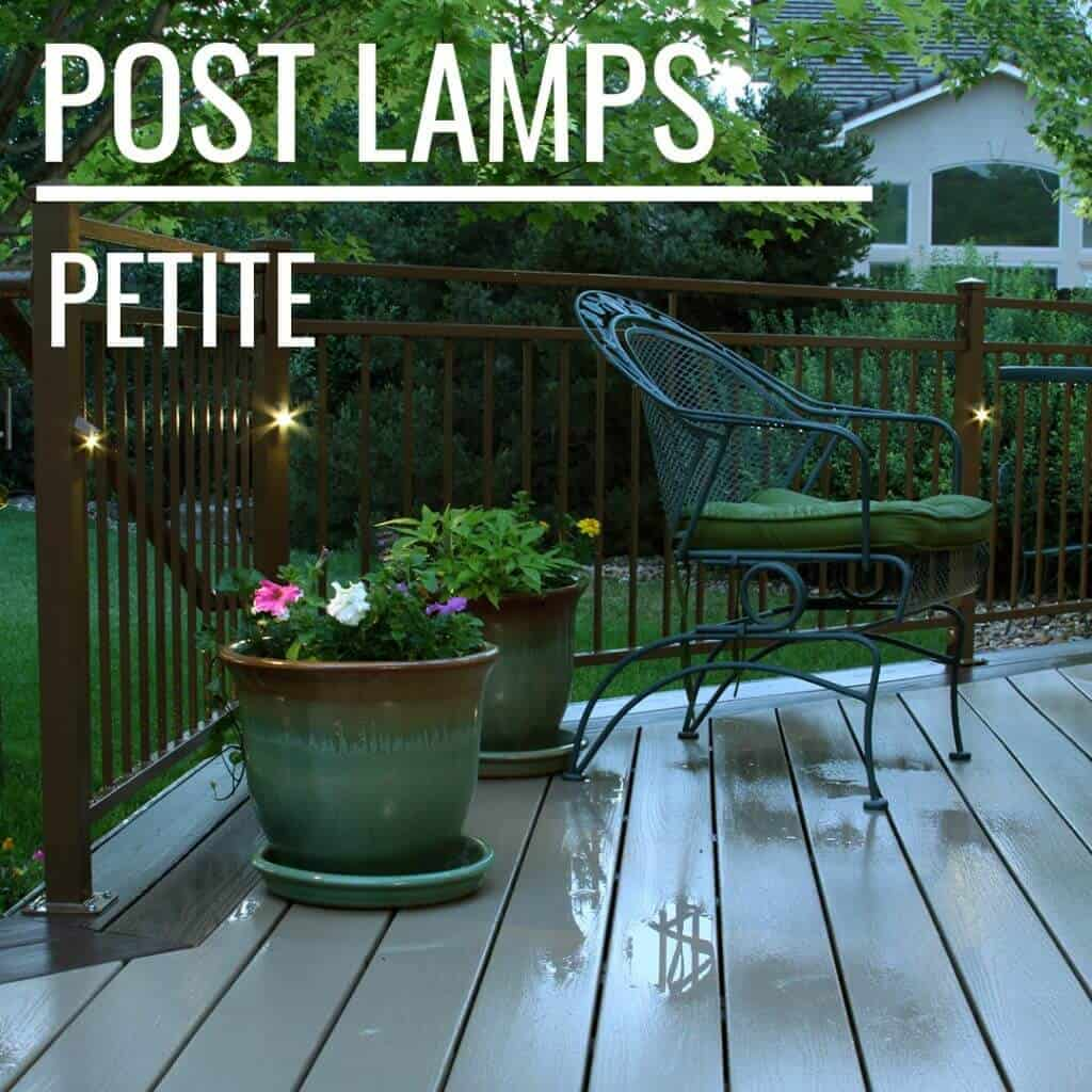 LED post lights