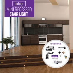 mini single stair light
