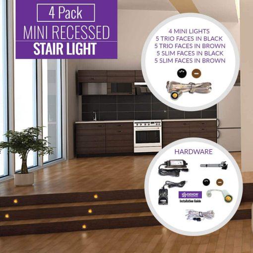 mini_recessed Indoor 4 pack