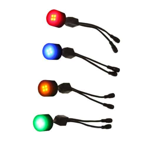 dock dot led lights with colored leds