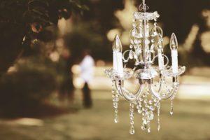 pergola chandeliers