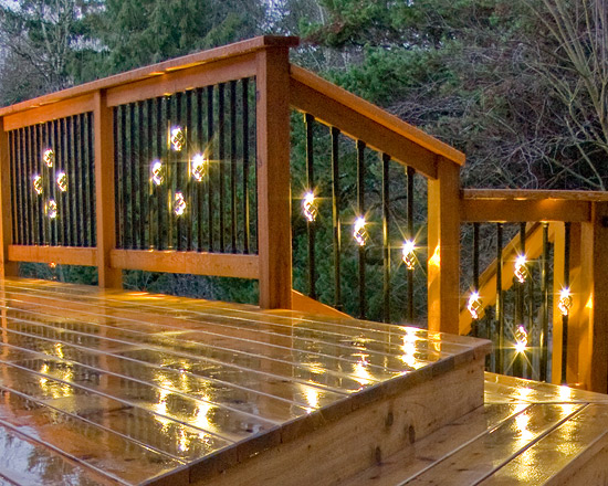 & A Custom Work of Deck Art in Portland Oregon - DEKOR® Lighting