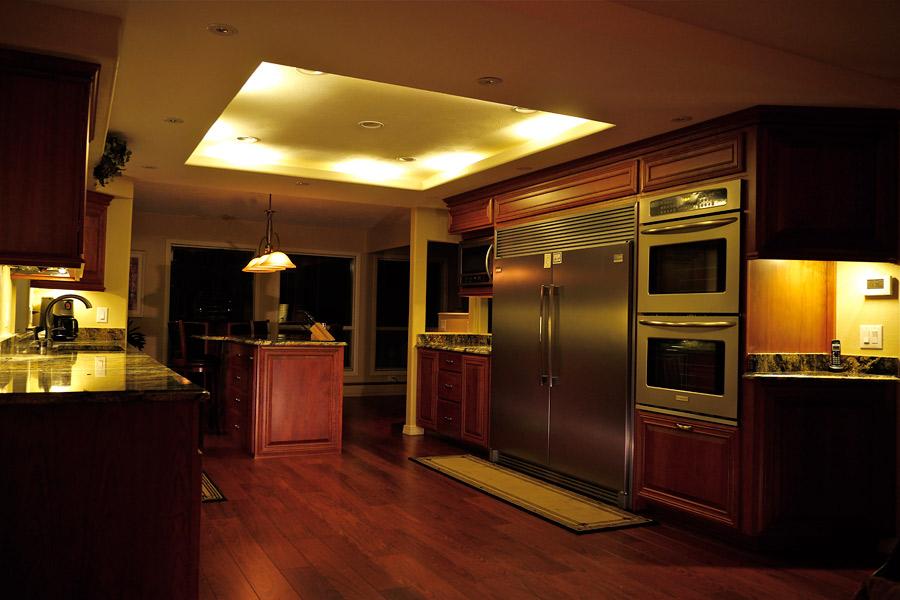 Kitchen Cabinet Lighting Gallery DEKOR Lighting - Dimmable led kitchen ceiling lights
