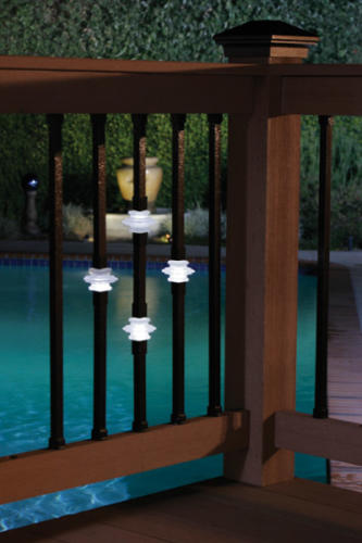 Casey collar Illuminations balusters poolside