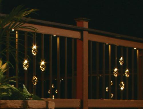 Illuminations balusters: premium quality aluminum balusters with illuminated baskets