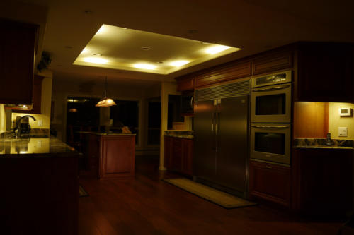 Kitchen Lighting: Dimmable LED Cove Lighting