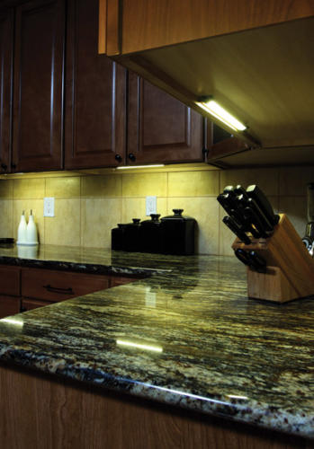 LED Under Cabinet Lights From DEKOR™ low maintenance, slim profile, and extremely energy efficient.