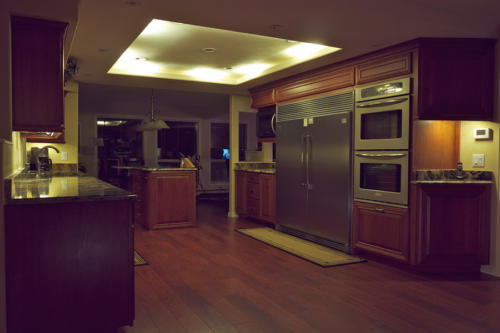 All our LED kitchen and cabinet lighting is dimmable.