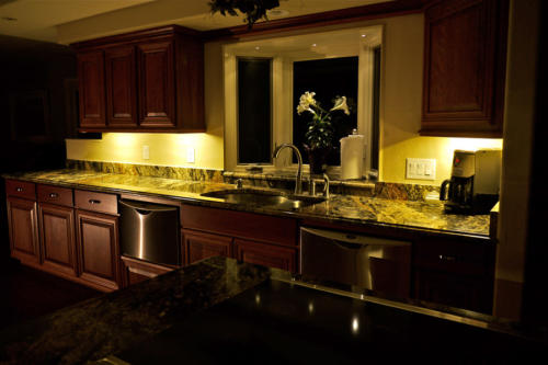 Add ambiance and safety to your kitchen with our LED Under Cabinet Lights