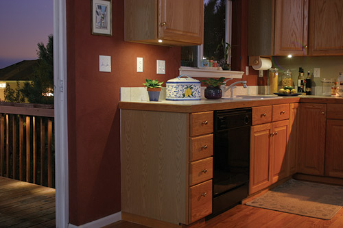 Create a warm, inviting kitchen atmosphere